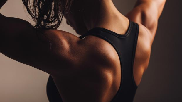 How to tone up your back | Womens Fitness