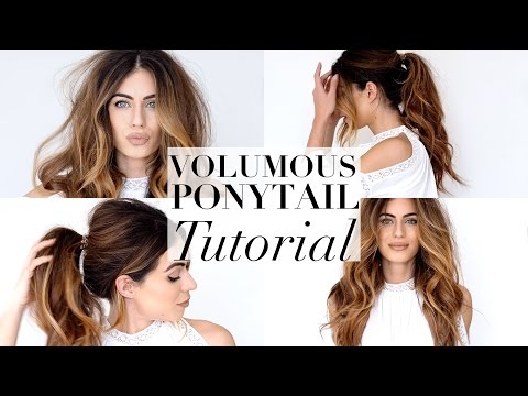 Ponytail tutorial – YouTube