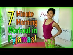 7-Minute Morning Workout in Pyjamas – YouTube