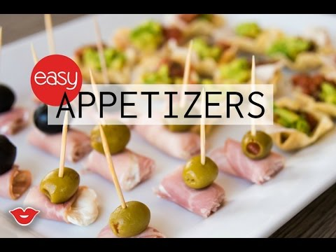 Three Easy Appetizers